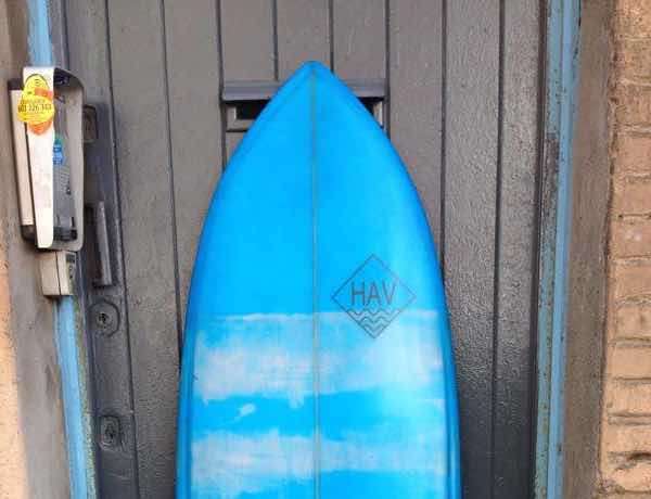 the mine surfboard
